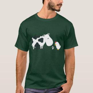 Kuh oder Huhn T-Shirt