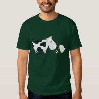 Kuh oder Huhn T-Shirts