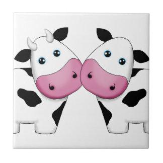 Kuh-Paare Fliese