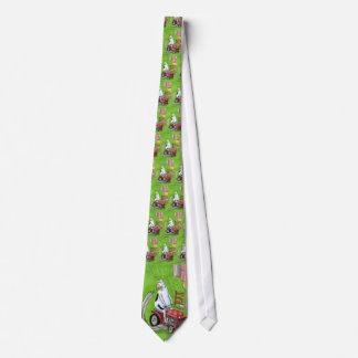 Kuh-Reitrasenmäher Dans Reynolds | Krawatten-| Bedruckte Krawatten
