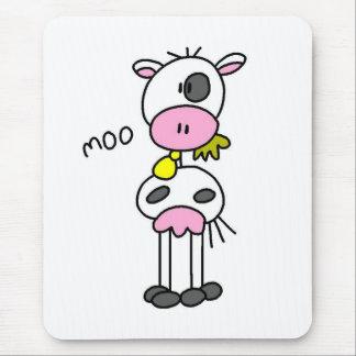 Kuh sagt MOO-T-Shirts und -geschenke Mousepads
