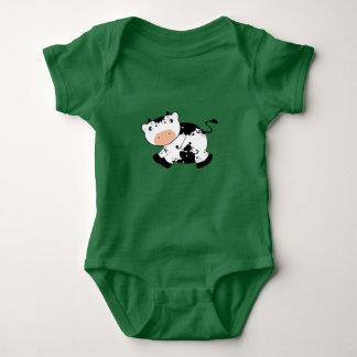 Kuh-Shirt Baby Strampler