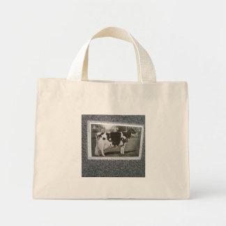 Kuh-Tasche Mini Stoffbeutel