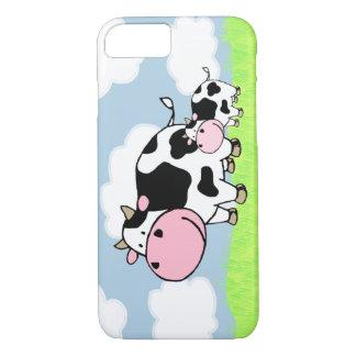 Kuh und Baby iPhone 8/7 Hülle