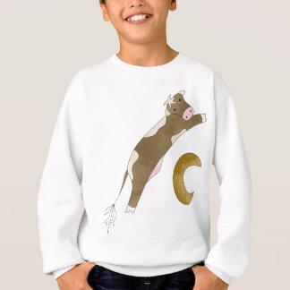Kuh und Mond Sweatshirt
