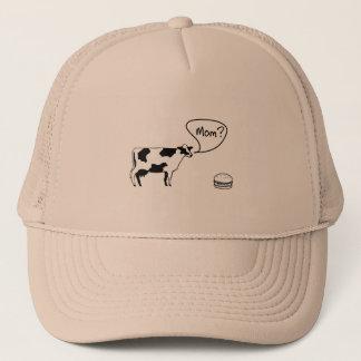 Kuh zum Burger Truckerkappe