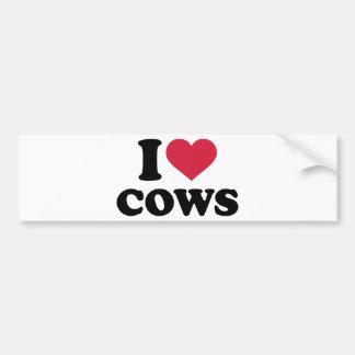 Kühe der Liebe I Autoaufkleber