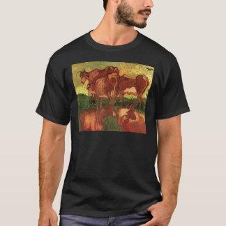 Kühe durch Vincent van Gogh T-Shirt