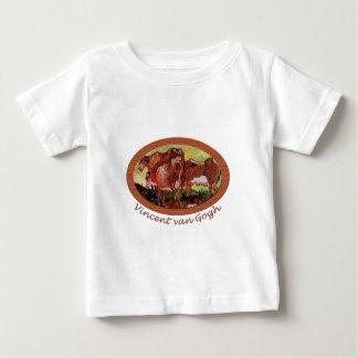 Kühe nach Jordaens Vincent van Gogh Baby T-shirt