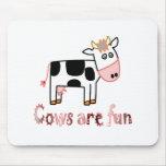 Kühe sind Spaß Mousepad