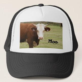 """Kuhhut: """"MOO. """" Truckerkappe"""