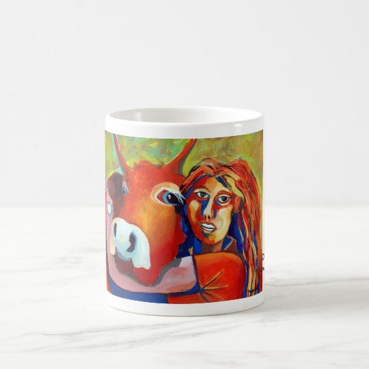 Kuhle cup: CowGirl Kaffeetasse