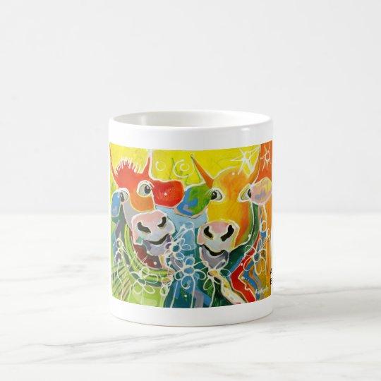 Kuhle Tasse: A-Hörnchen und B-Hörnchen VI Kaffeetasse