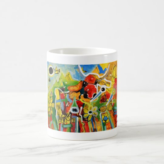 Kuhle Tasse: AlpenRockLady Kaffeetasse