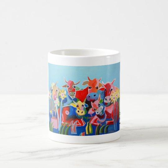 Kuhle Tasse: Die sechs Kuhmmerbuben Kaffeetasse