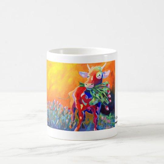Kuhle Tasse: Flower Power Baby Kaffeetasse