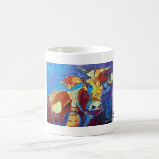 Kuhle Tasse: Golden Girl Kaffeetasse
