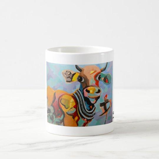 Kuhle Tasse: Golden Rose Kaffeetasse