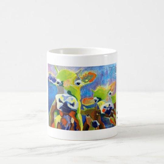 Kuhle Tasse: Kalberei Kaffeetasse