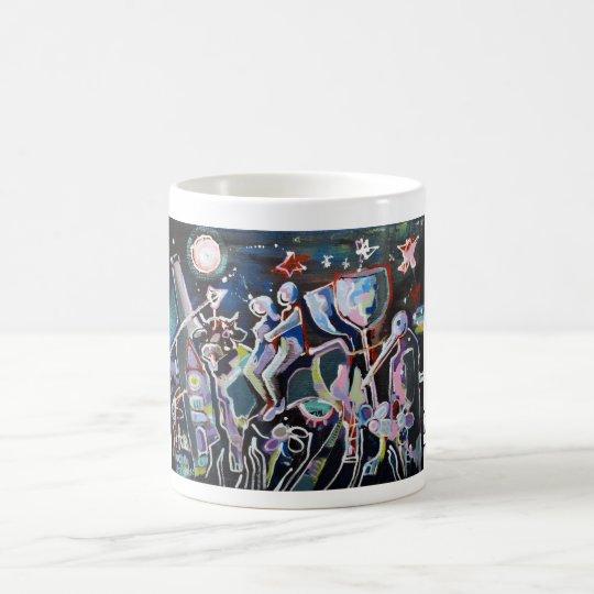 Kuhle Tasse: Kuhler Jahreswechsel Kaffeetasse
