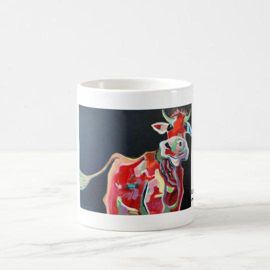 Kuhle Tasse: Liebe Kuh Kaffeetasse
