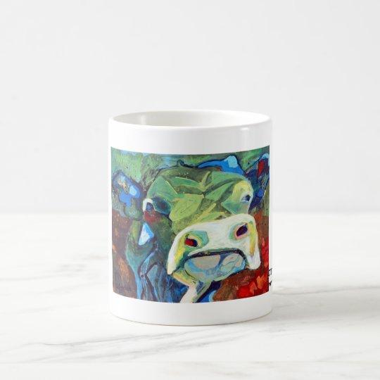 Kuhle Tasse: Ottilie Blaumann Kaffeetasse