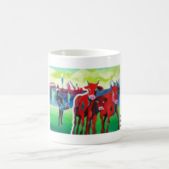 Kuhle Tasse: RedGangGirls in Hamburg Kaffeetasse