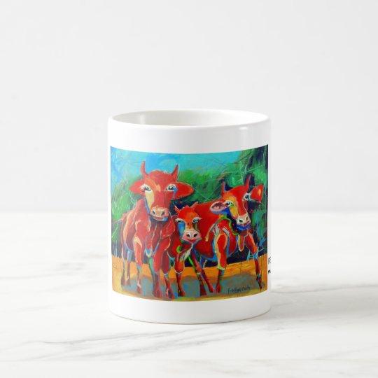 Kuhle Tasse: RedGangGirls Kaffeetasse