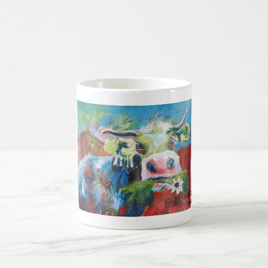 Kuhle Tasse: Selma Greenhorn Kaffeetasse