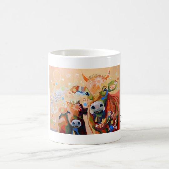 Kuhle Tasse: Smarties Kaffeetasse