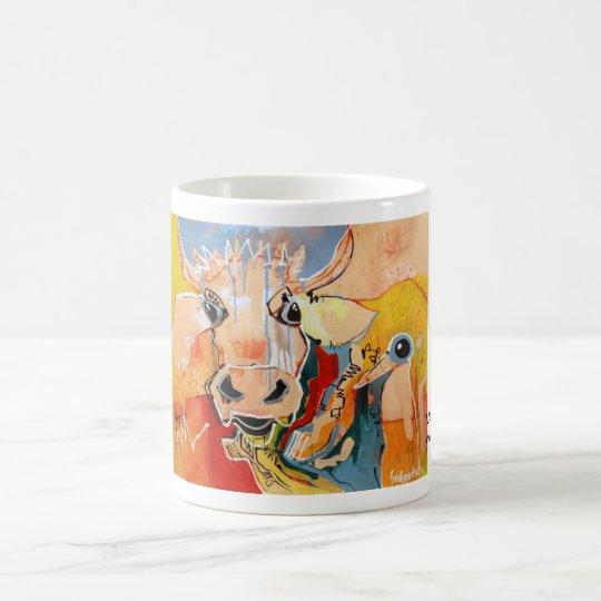 Kuhle Tasse: Vogu-Lisi Kaffeetasse