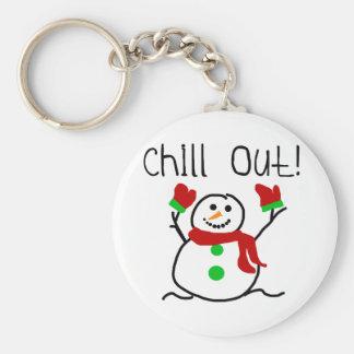 Kühlen Sie heraus Schneemann-T-Shirts und Geschenk Schlüsselbänder