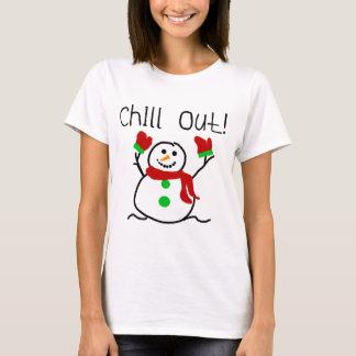 Kühlen Sie heraus Schneemann-T-Shirts und T-Shirt