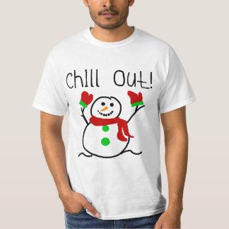 Kühlen Sie heraus Schneemann-T-Shirts und T Shirt