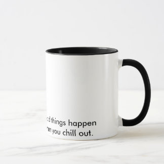 Kühlen Sie heraus Tasse