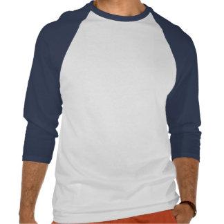 Kühlen Sie heraus Unisexbaseball-T-Stück T-shirt