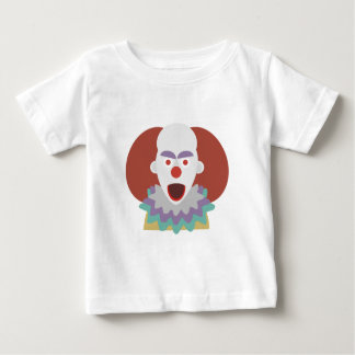 Kühlendes Blick-Monster Clown-Terror-Halloweens Baby T-shirt