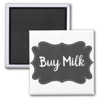 Kühlschrank-Erinnerungs-Magnet - kaufen Sie Milch Quadratischer Magnet
