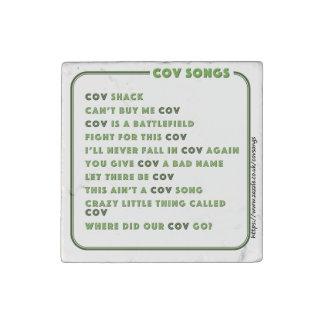 Kühlschrankmagnet C Coventrys CovSongs Steinmagnet