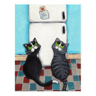 Kühlschrankmagnet-Postkarte Postkarten