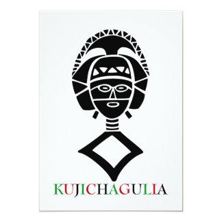 Kujichagulia Kwanzaa Feiertags-Party Einladungen