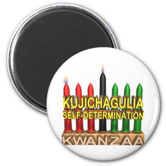 Kujichagulia Runder Magnet 5,7 Cm