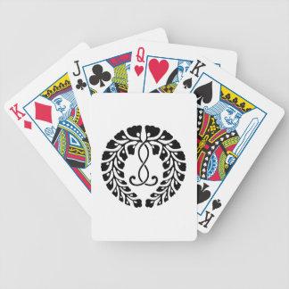 Kujo Glyzinien Bicycle Spielkarten