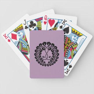 Kujo Glyzinien H Bicycle Spielkarten