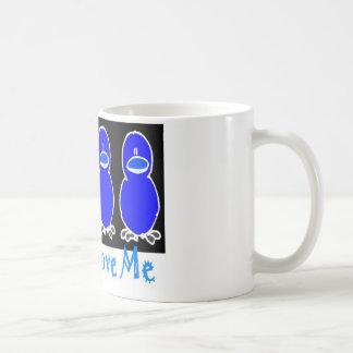 Küken-Liebe ich Kaffeetasse