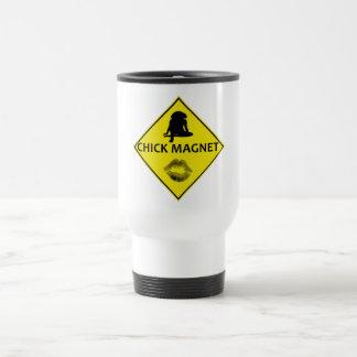 Küken-Magnet-Gelb-Verkehrsschild-Reise-Tasse Edelstahl Thermotasse