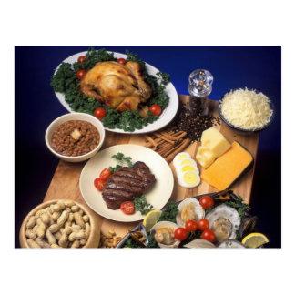 Kulinarische Küchen Postkarte