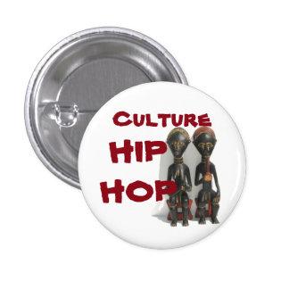 Kultur-angesagter Hopfenknopf Runder Button 3,2 Cm
