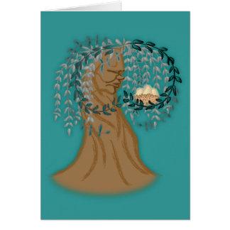 Kümmerte Baum Karte