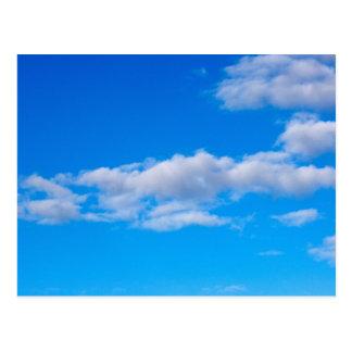 Kumuluswolken über der Western Antarktis Postkarte